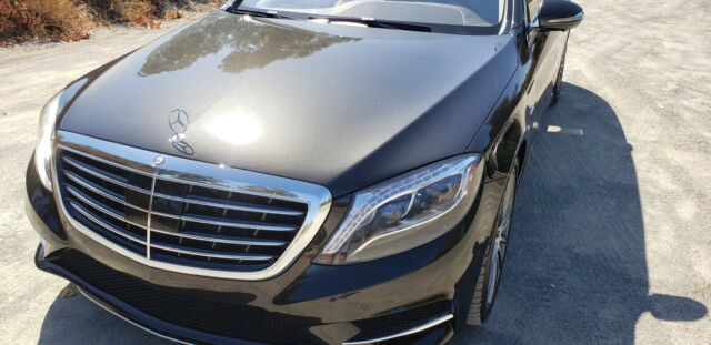 2015 Mercedes-Benz S-Class (Green/Tan)