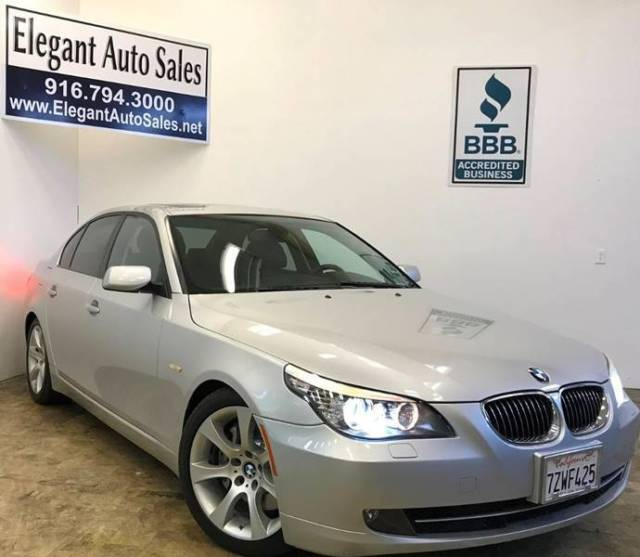2008 BMW 5-Series (Gray/Black)