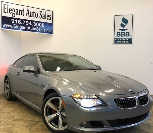 2010 BMW 6-Series (Gray/Black)