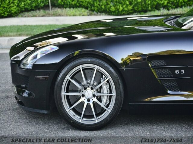 2012 Mercedes-Benz SLS AMG (Black/Black)