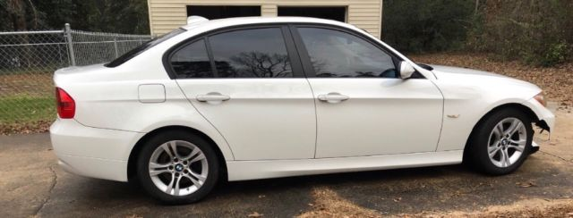 2008 BMW 3-Series (White/Beige)