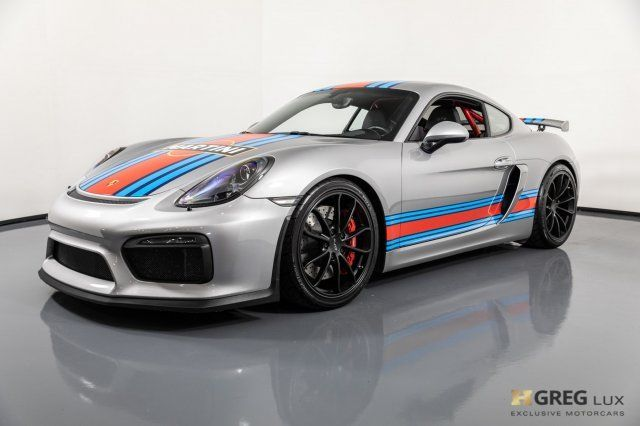 2016 Porsche Cayman (Gray/Black)
