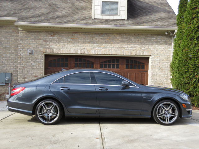 2013 Mercedes-Benz CLS-Class (Steel Blue-Tenorite Gray Metallic/Black)