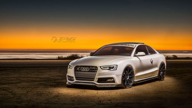 2014 Audi S5 (White/Black/Red)