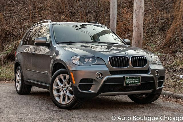 2012 BMW X5 (Gray/Sand Beige w/Nevada Leather Upholstery)