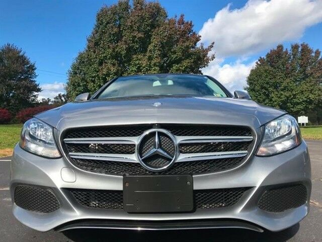 2016 Mercedes-Benz C-Class (Diamond Silver Metallic/Black)