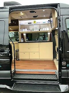 2016 Mercedes-Benz Sprinter (Black/Tan)