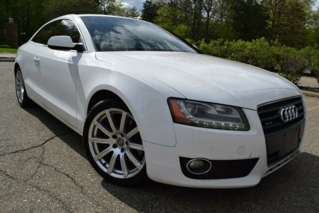 2011 Audi A5 (WHITE/TAN LEATHER)