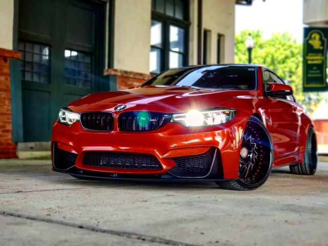2018 BMW M4 (Sakhir Orange II/Black)
