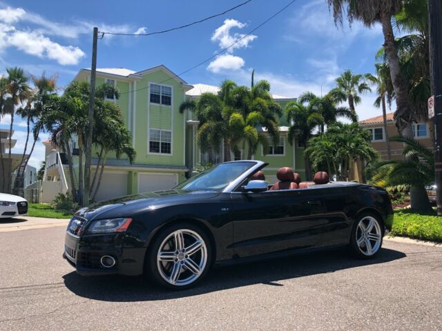 2012 Audi S5 (Black/Brown)