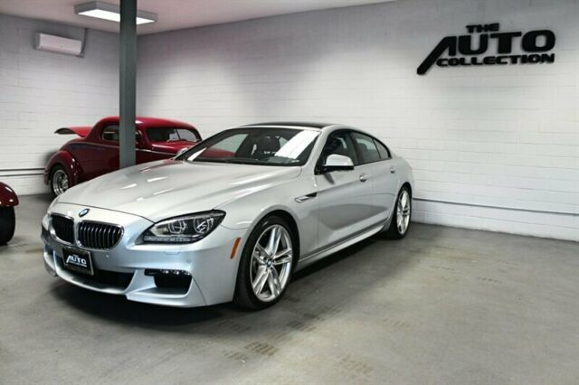 2015 BMW 6-Series (Glacier Silver Metallic/Black)