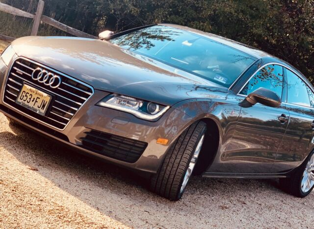 2012 Audi A7 (Gray/Brown)