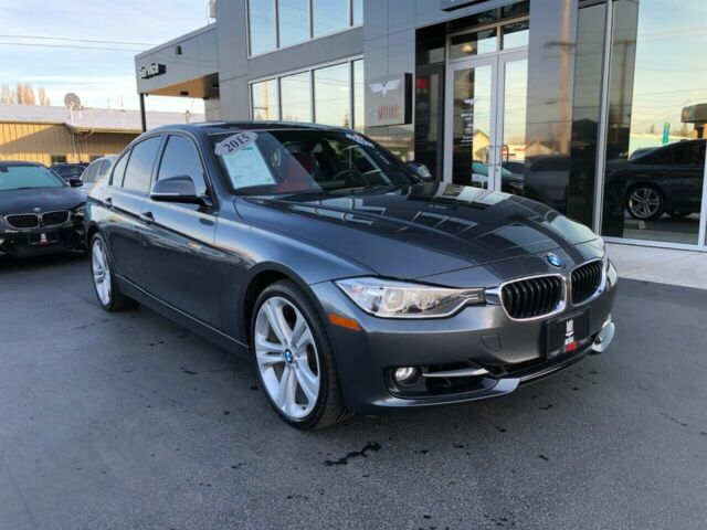 2015 BMW 3-Series (Gray/Red)