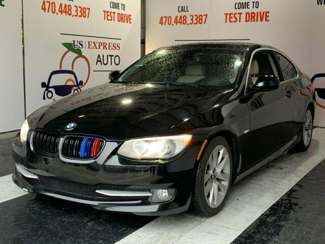 2012 BMW 3-Series (Black/Beige)