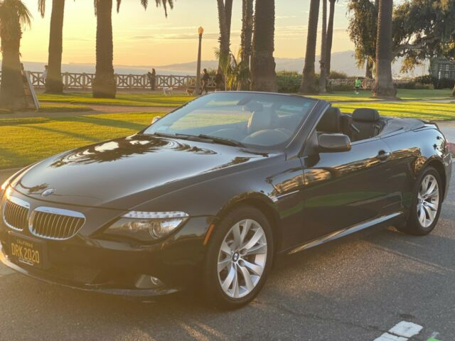 2009 BMW 6-Series (White/Cognac)