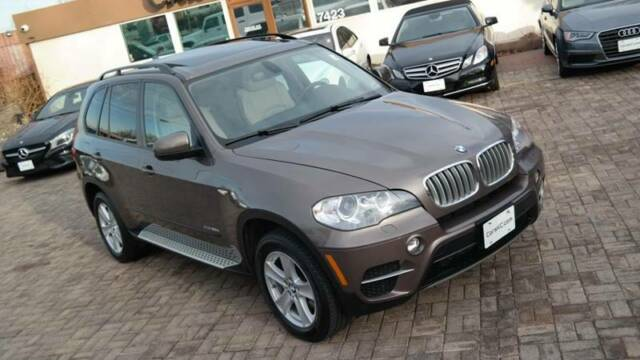 2012 BMW X5 (Brown/White)