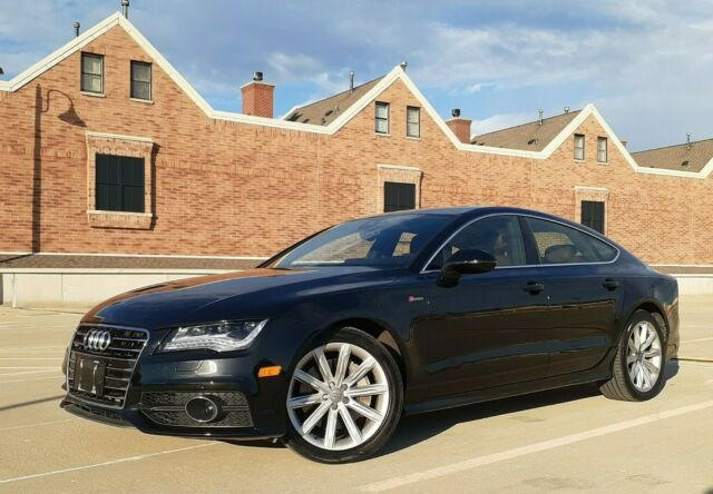 2012 Audi A7 (Black/Brown)