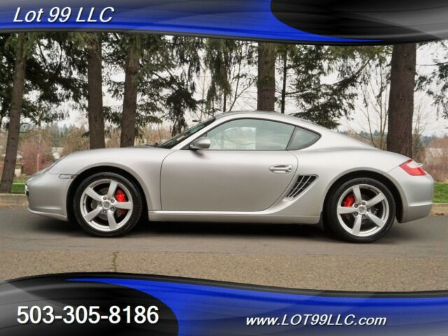 2008 Porsche Cayman (Arctic Silver Metallic/Black/Stone Grey Leather)