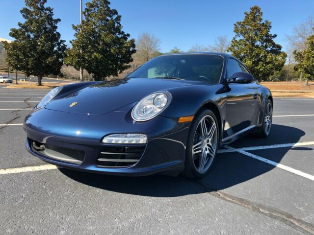 2011 Porsche 911 (Dark Blue Metallic/Black)