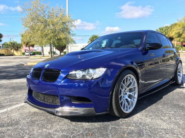2011 BMW M3 (Blue/Black)