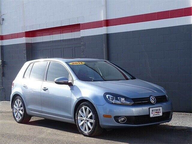 2011 Volkswagen Golf (Blue/Black)