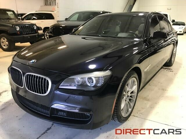 2012 BMW 7-Series (Imperial Blue Metallic/Black)