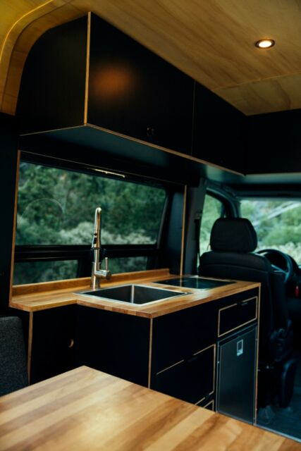 2017 Mercedes-Benz Sprinter 2500 (Black/Black and Wood)