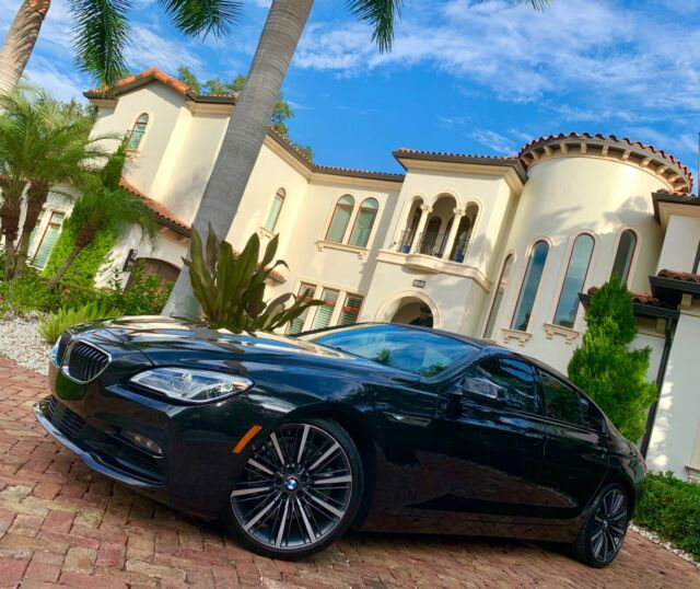 2016 BMW 6-Series (Black/Tan)