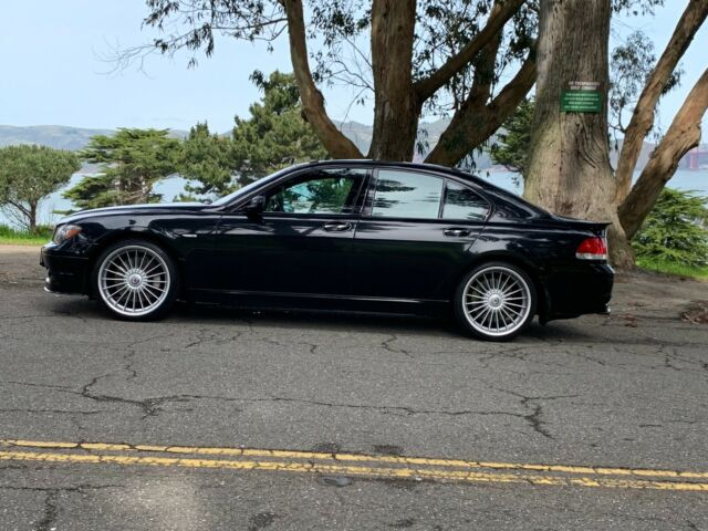 2007 BMW 7-Series (Black/Black)