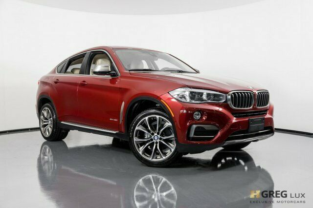 2016 BMW X6 (Red/Black)