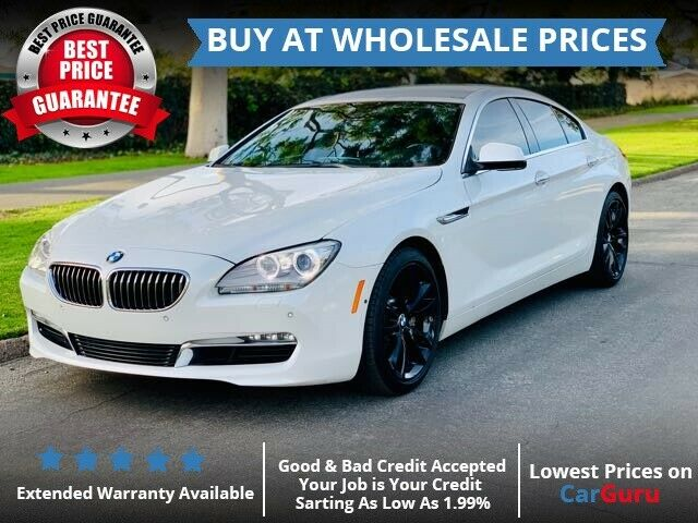 2013 BMW 6-Series (White/Black)