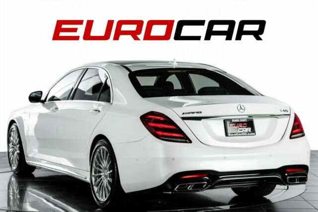 2018 Mercedes-Benz S-Class (White/Black)