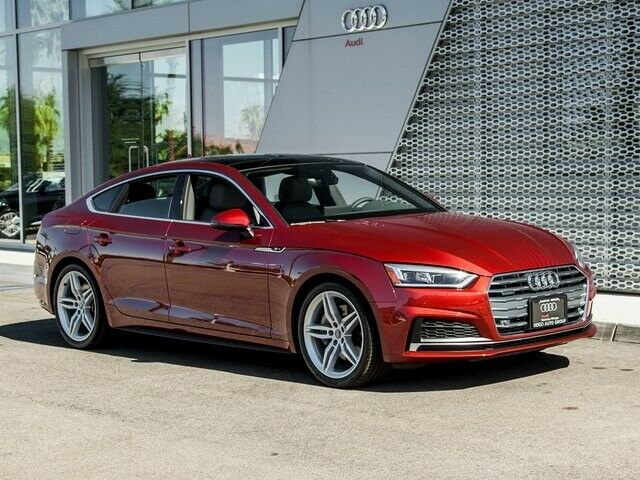 2018 Audi A5 (Red/Gray)
