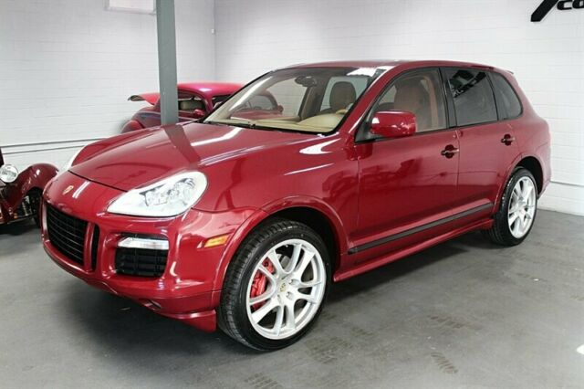 2008 Porsche Cayenne (Carmona Red Metallic/Tan)