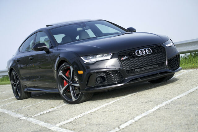 2016 Audi RS7 (Black/Gray)