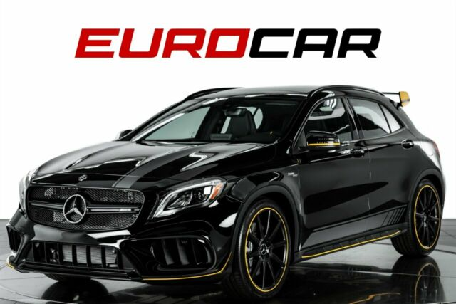 2018 Mercedes-Benz GLA (Black/Black)