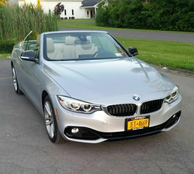 2015 BMW 4-Series (Silver/Tan)