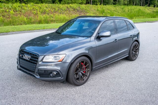 2016 Audi SQ5 (Gray/SPECIAL BLACK LEATHER / DIAMOND SHAPE)