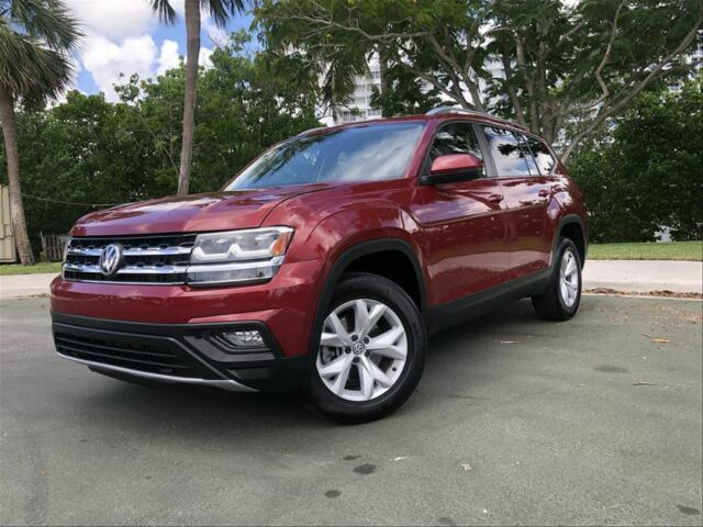 2018 Volkswagen Atlas (Gold/Tan)