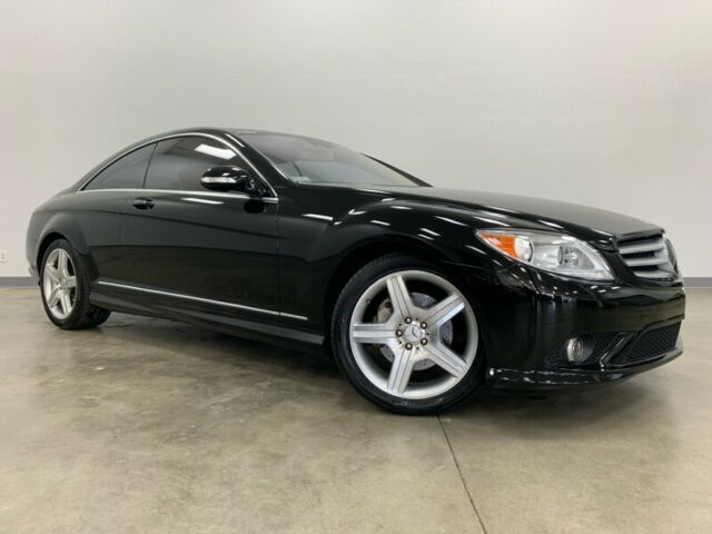 2007 Mercedes-Benz CL-Class (Black/Tan)
