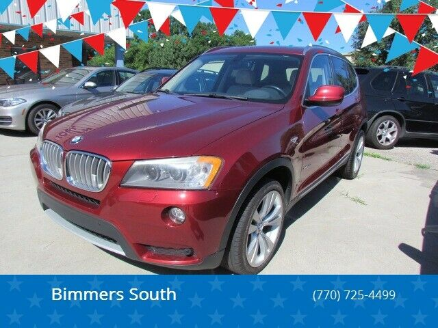 2011 BMW X3 (Red/Tan)