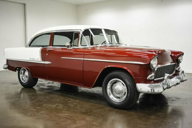 1955 Chevrolet Bel Air/150/210 (Red/Black)