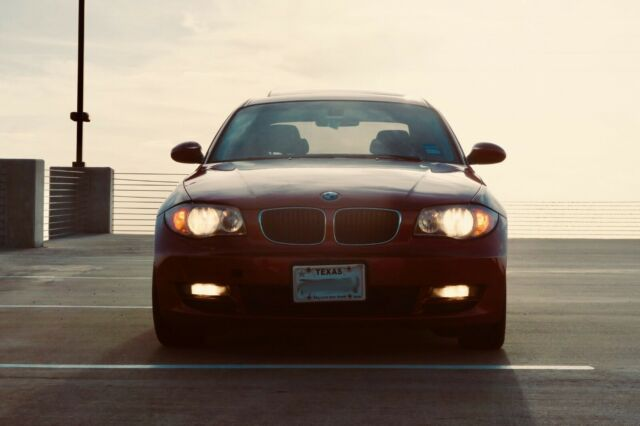 2009 BMW 1-Series (Burnt Orange/Black)