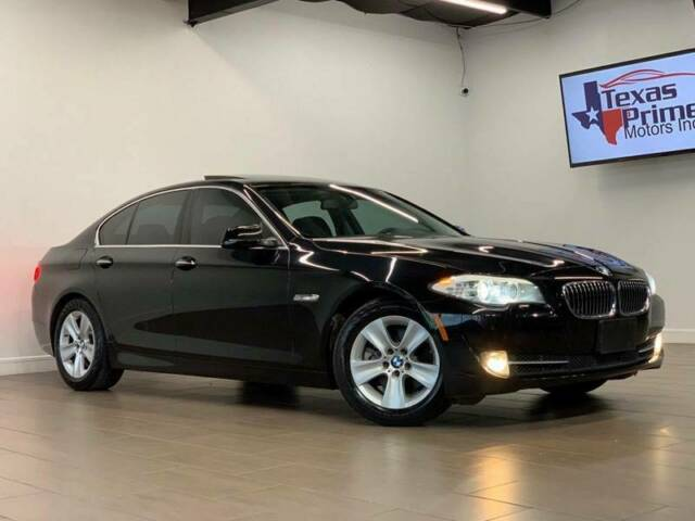 2013 BMW 5-Series (Black/Black)