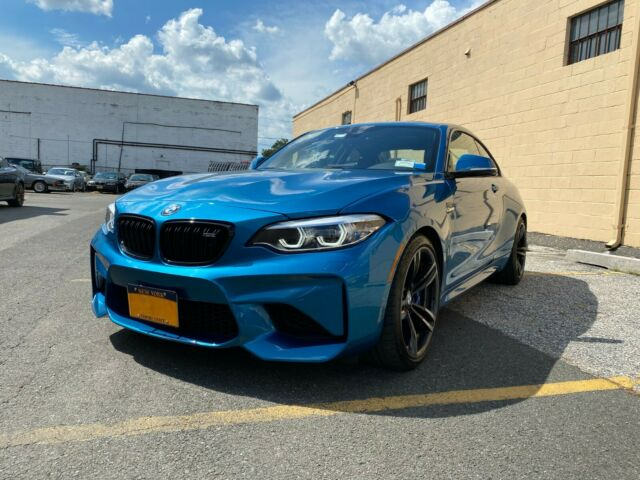 2018 BMW M2 (Blue/Black)
