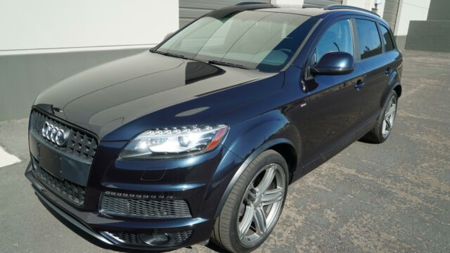 2012 Audi Q7 TDI (Blue/Black)