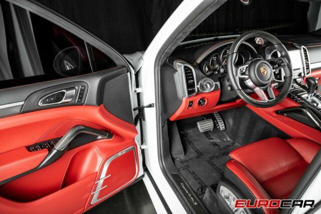 Seller Of German Cars 2018 Porsche Cayenne White Red