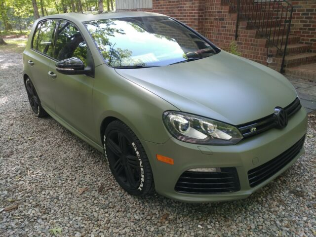 2012 Volkswagen Golf R (Green/Black)