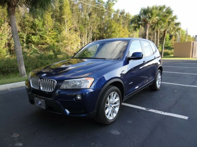 2014 BMW X3 (Blue/Beige)