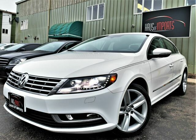 2013 Volkswagen CC (White/Black)